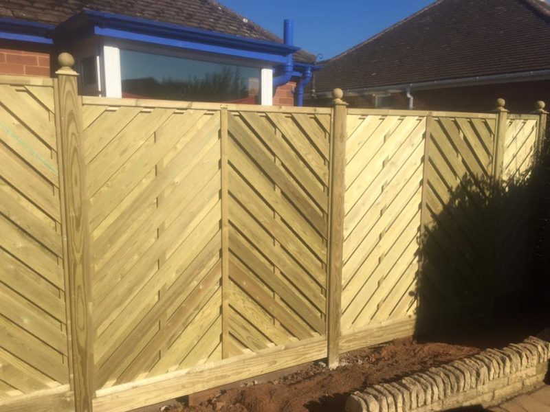 Home Wooden Fencing