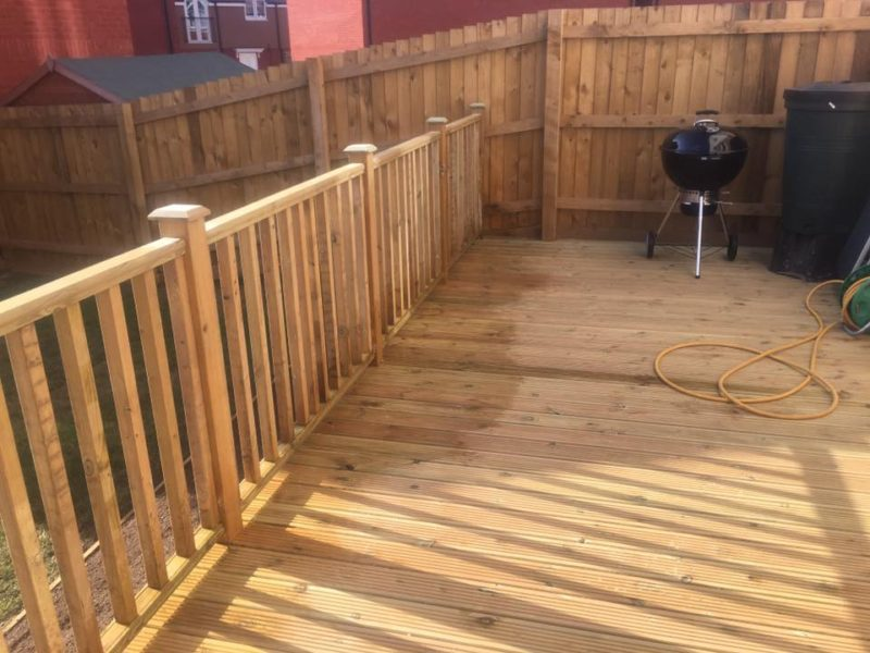 New Timber Decking