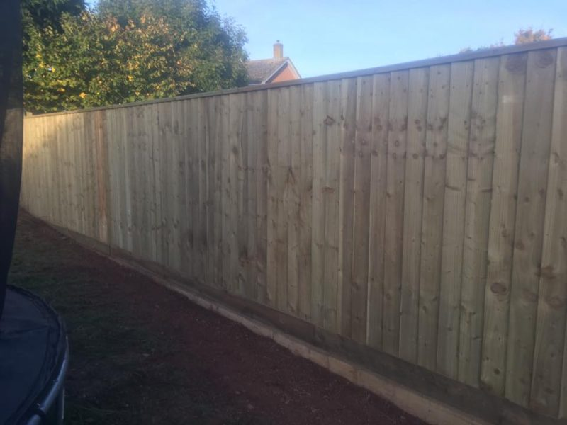 Brand New Wooden Fencing