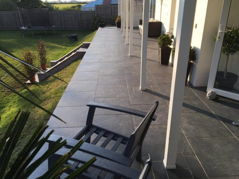 Front of House Garden Paving Slabs