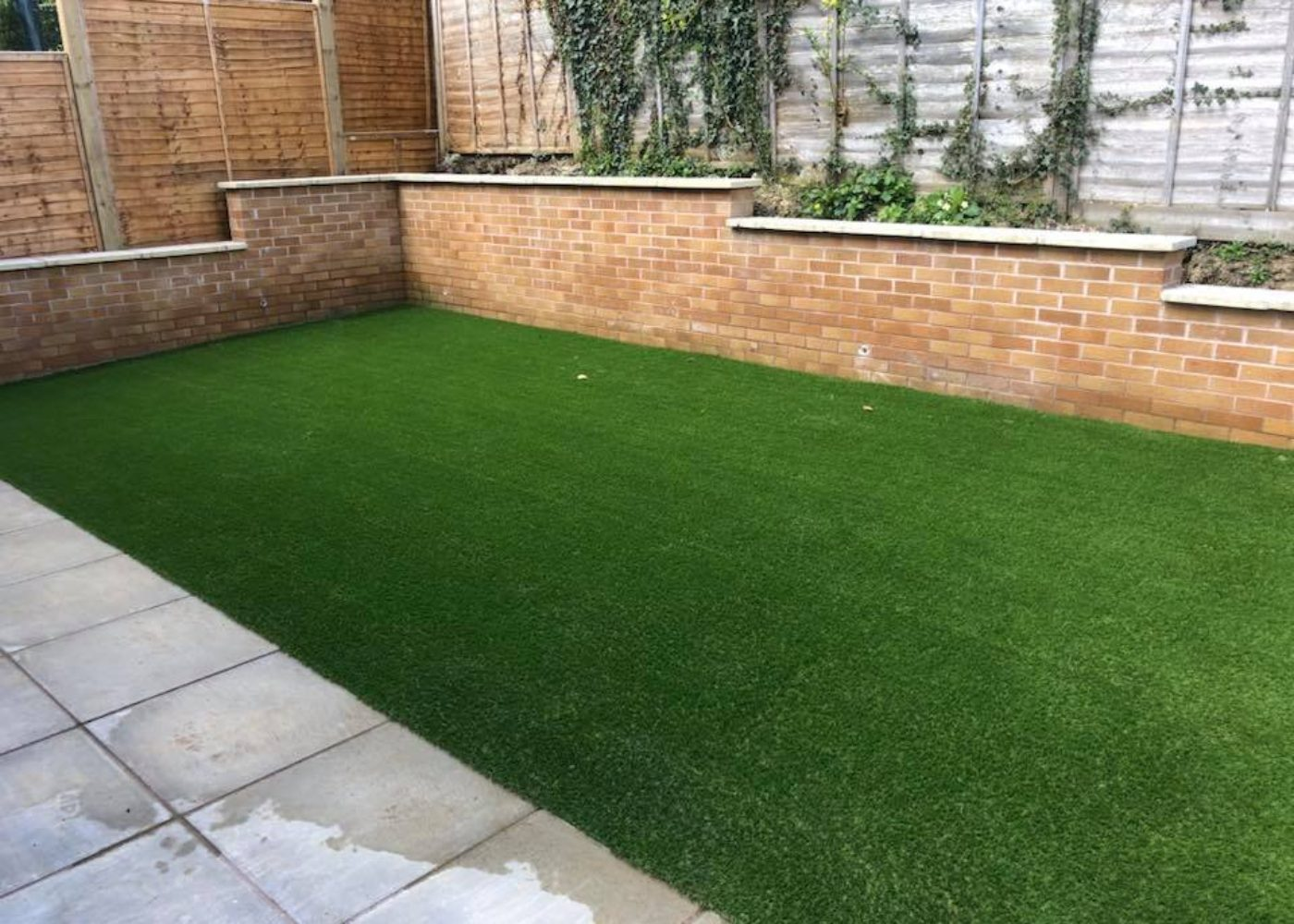Installed Space Grass Garden