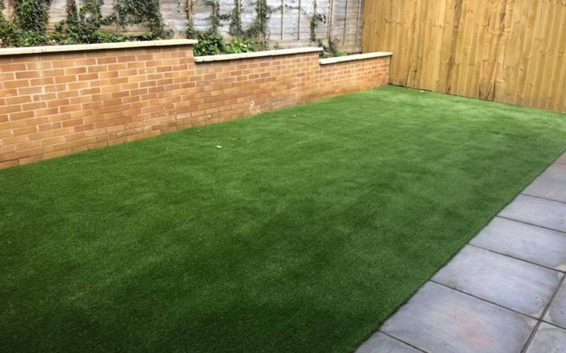 Fresh Installed Space Grass Home Garden