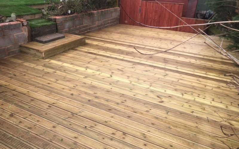 Newly Installed Timber Decking