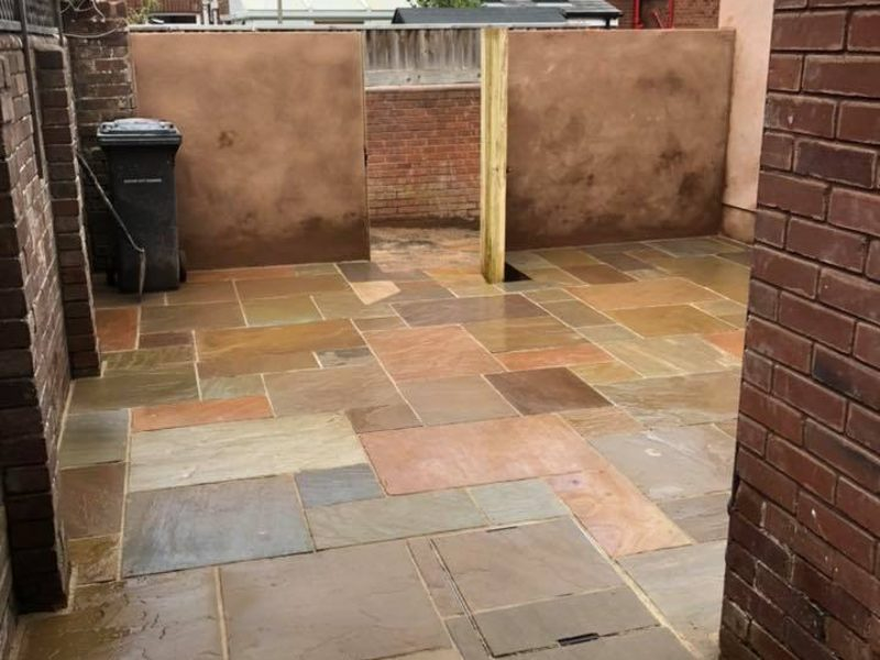 New Block Slab Paving
